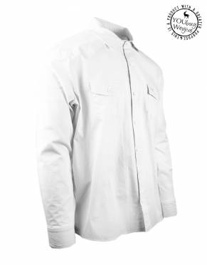 Men's Mara&Meru™ Quintessential White Shirt