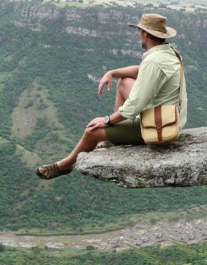 Mara&Meru™ Selous Satchel with interchangeable front flap