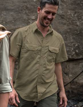 Men's BUGTech™ Insect Repellent Safari Shirt, Short Sleeves