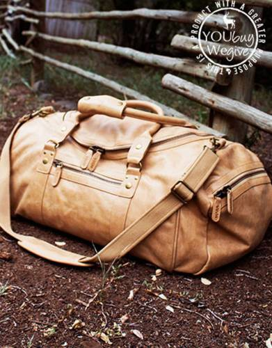 Mara&Meru™ Quintessential Leather Bag (Safari,Travel,Everyday)