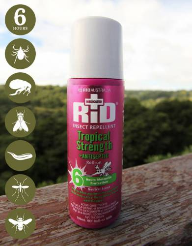RID™ Tropical Strength Insect Repellent Roll-On (Safari & Travel)