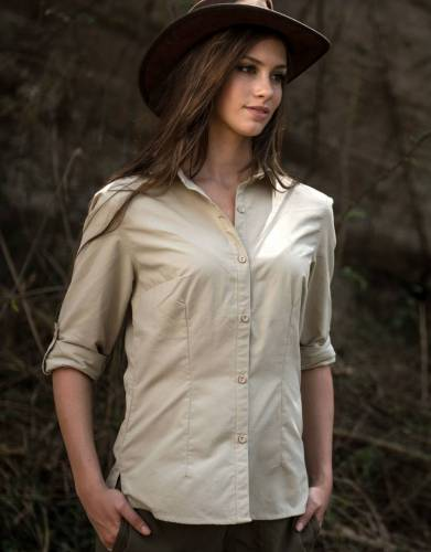The Essential Women's Rufiji™ MaraTech™ Long Sleeve Safari Shirt