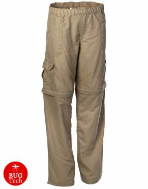 Boys' & Girls' BUGTech Zip-Off Safari Trousers