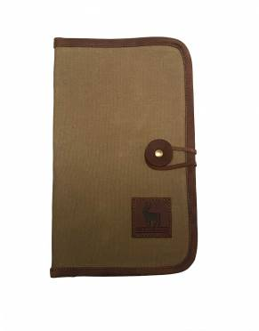 Classic Safari Travel Wallet
