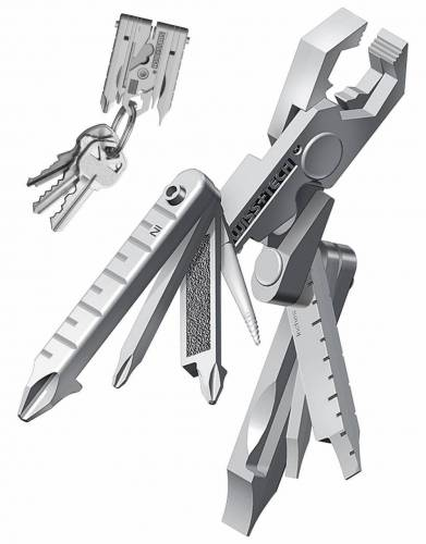 Swiss+Tech Micro Max XI 19-in-1 Key ring multi function tool
