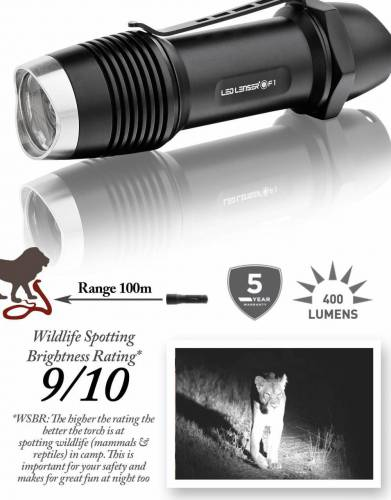 F1 Ledlenser Safari Torch