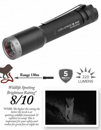 M3R Rechargeable Ledlenser Safari Torch