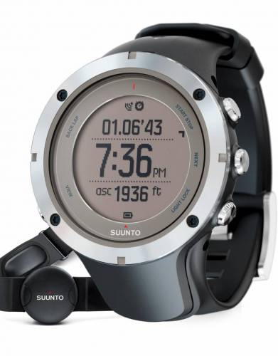Suunto™ Ambit3 Peak Safari & Explorer Watch in Sapphire (Heart Rate Monitor)