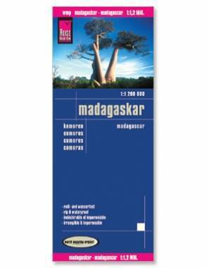 Reise Map of Madagascar