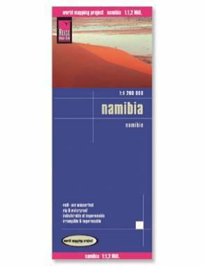 Reise Map of Namibia