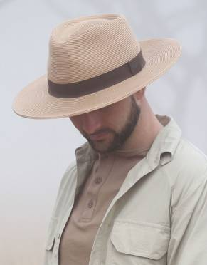 Men's Panama Safari Hat (Adjustable)