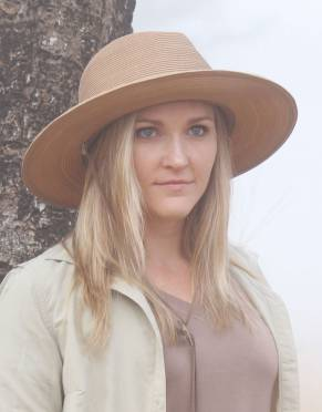 Women's Panama Safari Hat (Adjustable)