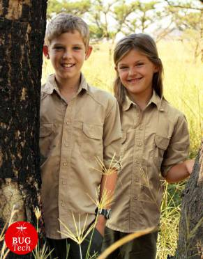 Boys' & Girls' Anti-Insect Safari Shirt