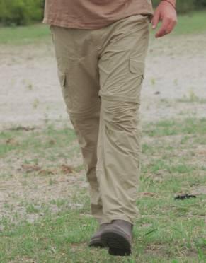 Men's Explorer BUGTech Anti-insect Cargo Zip-Off Safari Trousers