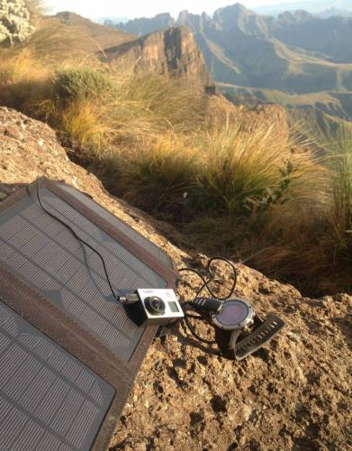15W Rainproof USB Solar Expedition Charger