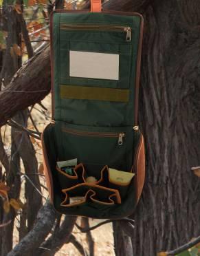 The Sandstorm Safari Travel Toiletry Bag by Safari Store