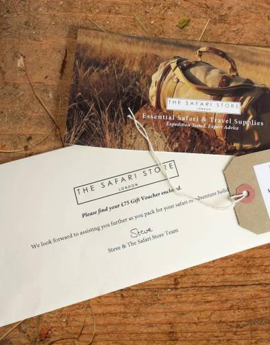 The Safari Store £75 Gift Voucher