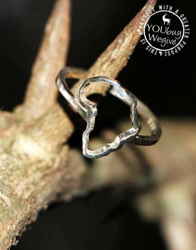 Mara&Meru™ Africa Silver Ring