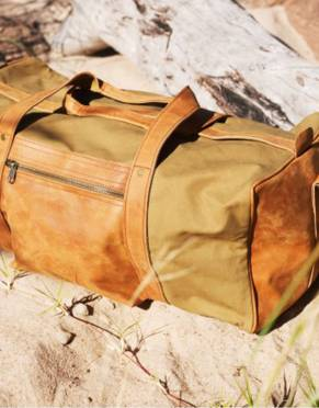 The Sandstorm Deluxe Adventurer Safari Duffle Bag by Safari Store