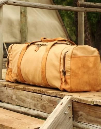 The Sandstorm Pioneer Safari Duffle Bag by Safari Store