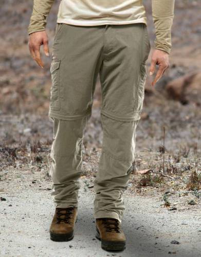 Men's NosiLife Anti-Insect Zip-Off Safari Trousers  by Safari Store