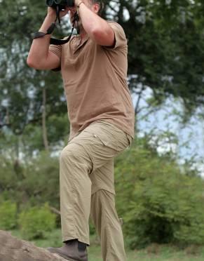 Men's Rufiji™ Explorer BUGTech™ Safari Cargo Zip-Off Trousers