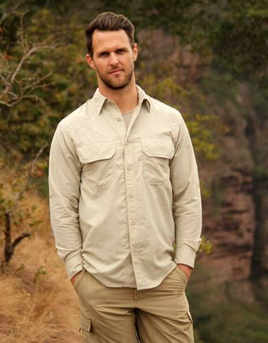 Men's Rufiji™ MaraTech™ SafariElite Long Sleeve Safari Shirt