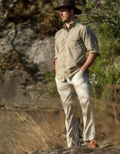 Men's Rufiji™ MaraTech™ Zip-Off Safari Trousers