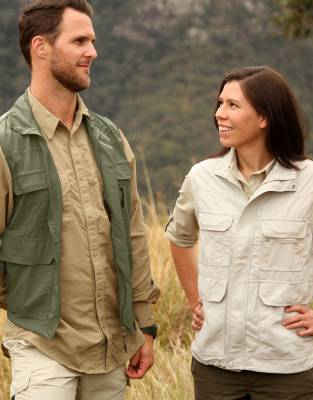 Rufiji™ MaraTech™ Multi-Pocket Safari Gilet (Unisex)