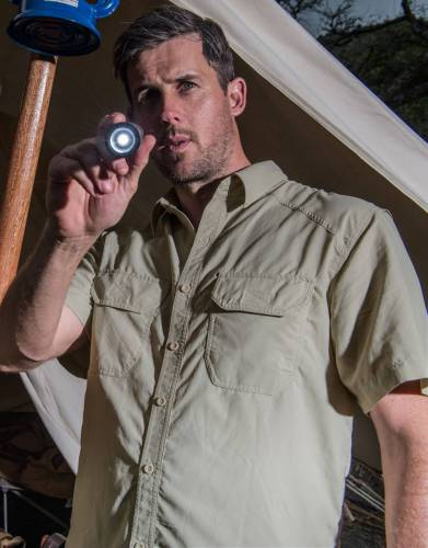 Men's Rufiji™ MaraTech™ SafariElite Short Sleeve Safari Shirt