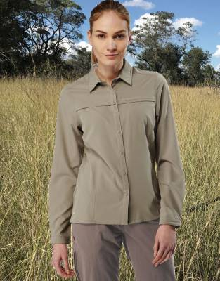 Women's NosiLife Insect Repellent Safari Shirt