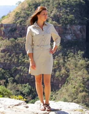 Women's Safari Shirt Dress