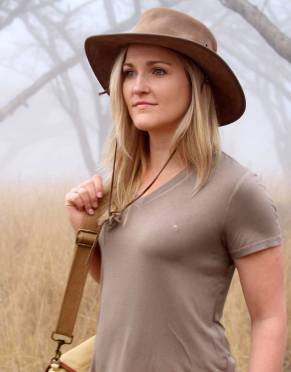 Women's Serengeti V-neck Safari T-Shirt
