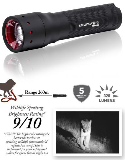 P7 Ledlenser Safari Torch