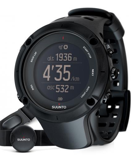 Suunto™ Ambit3 Peak Safari & Explorer Watch in Black  (Heart Rate Monitor)