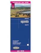 Reise Map of Uganda