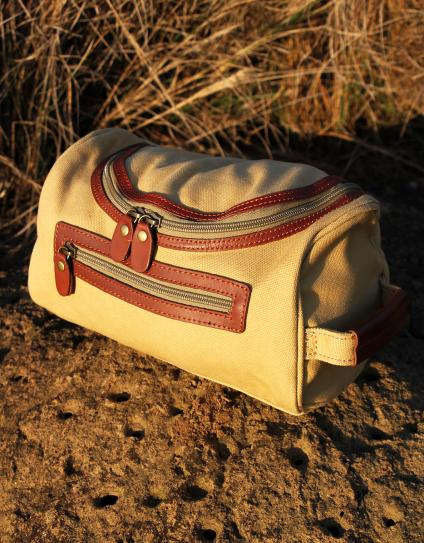 The Rufiji™ Safari Explorer Travel Toiletry Bag