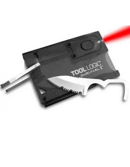 Tool Logic Survival II Credit Card Multi-tool by Safari Store