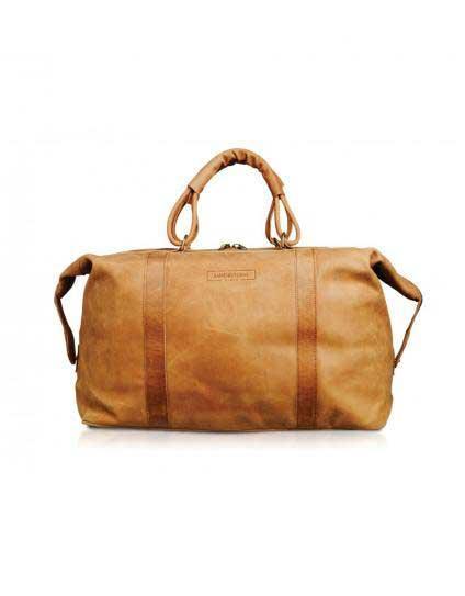 The Sandstorm Leather Odyssey Safari Bag