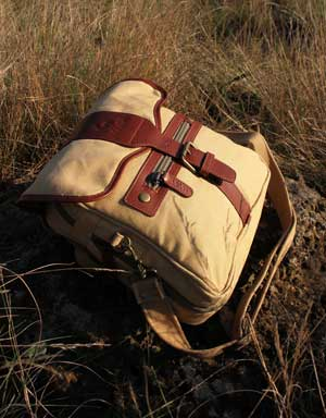 3-in-1 Canvas and Leather Bag for Farmers