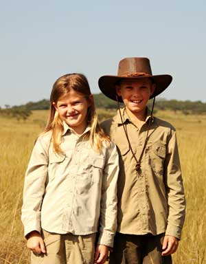 BUGTech Anti-Insect Children's Farm Shirts