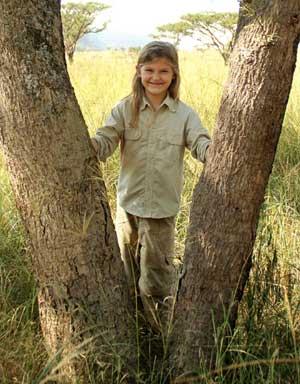 Rufiji Children's Sun Protective Farm Trousers for Sun Safety