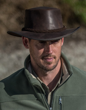 Barmah Leather Hat for Farmers