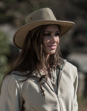 Barmah Leather Suede Hat for Farmers