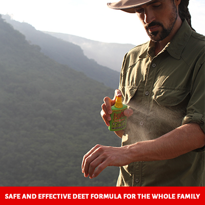 Bushman Insect Repellent is safe for your family to use