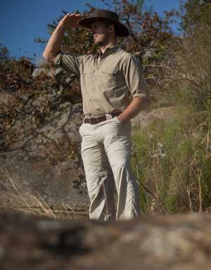 Explorer Men's Anti-Insect Farm Shirt