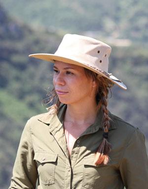 Explorer Canvas Sun Protective Hat for Farmers' Sun Safety