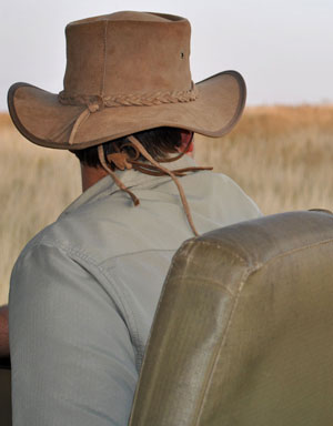 Explorer Leather Wide-Brim Hat for Farmer Sun Safety