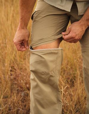 Explorer Zip-Off SPF Men's Farm Trousers for Sun Safety