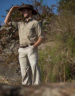 Men's Explorer Farm Shirt for Sun Safety